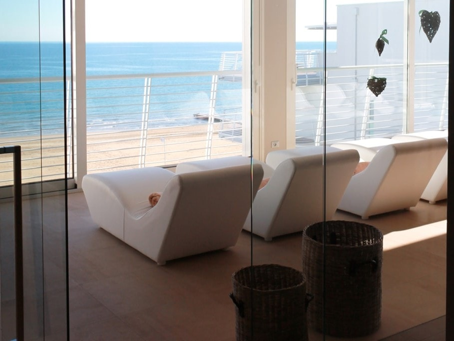 Area relax con vista panoramica