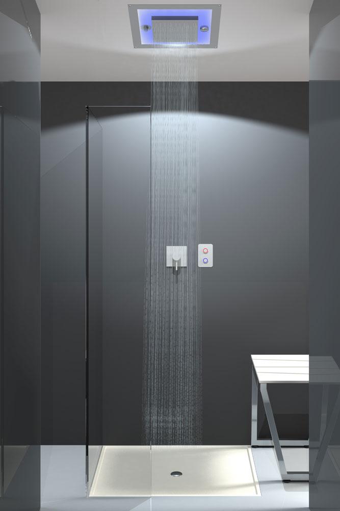 Produzione docce emozionali per casa e centri benessere - Doccia design moderno ...