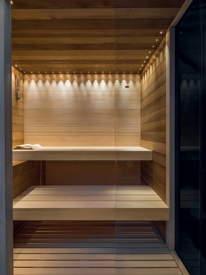 Sauna Evolution Illuminazione