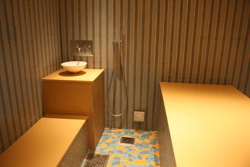 Hammam Different Rooms Temperatures