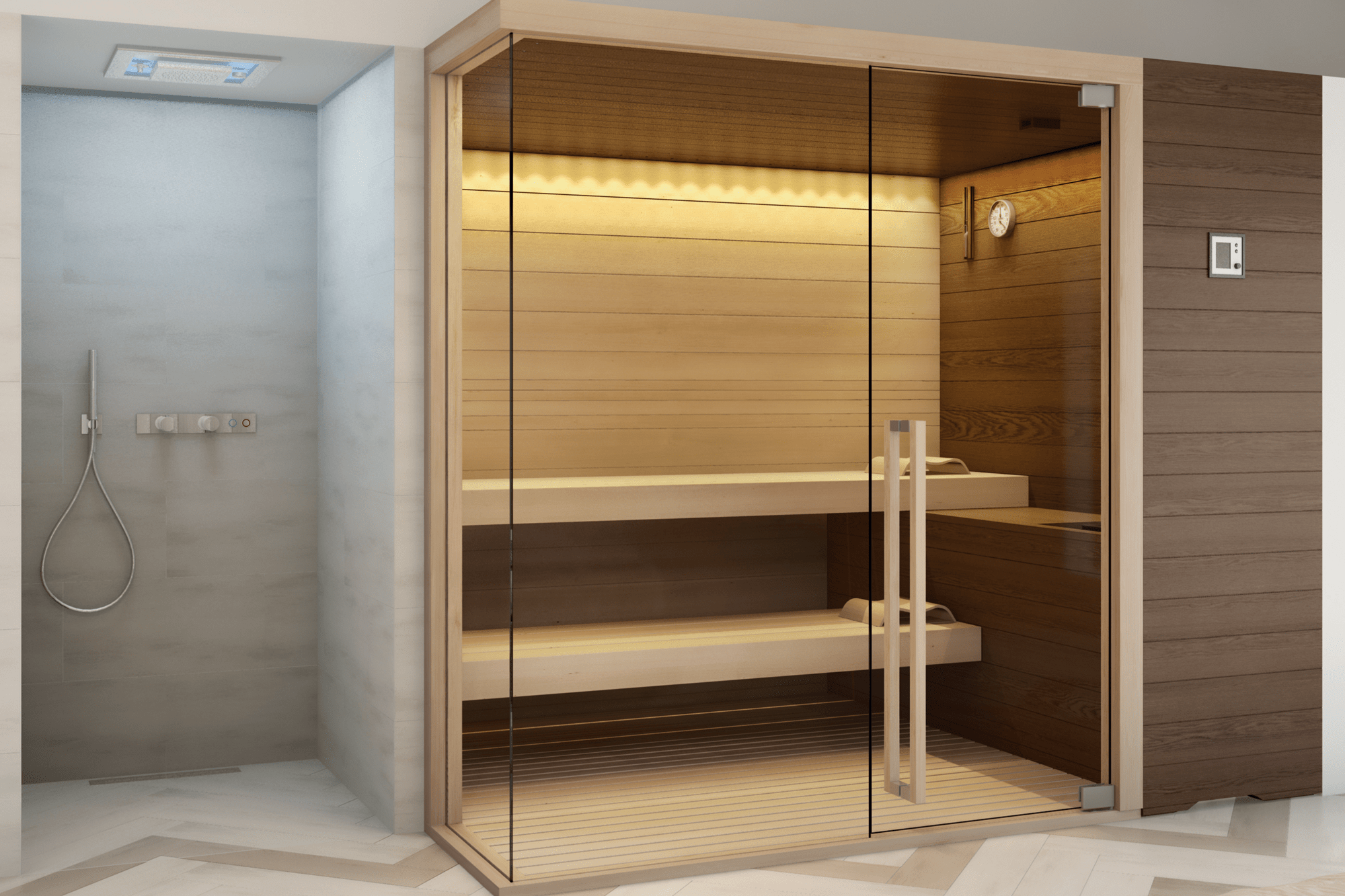 Sauna Evolution Corner