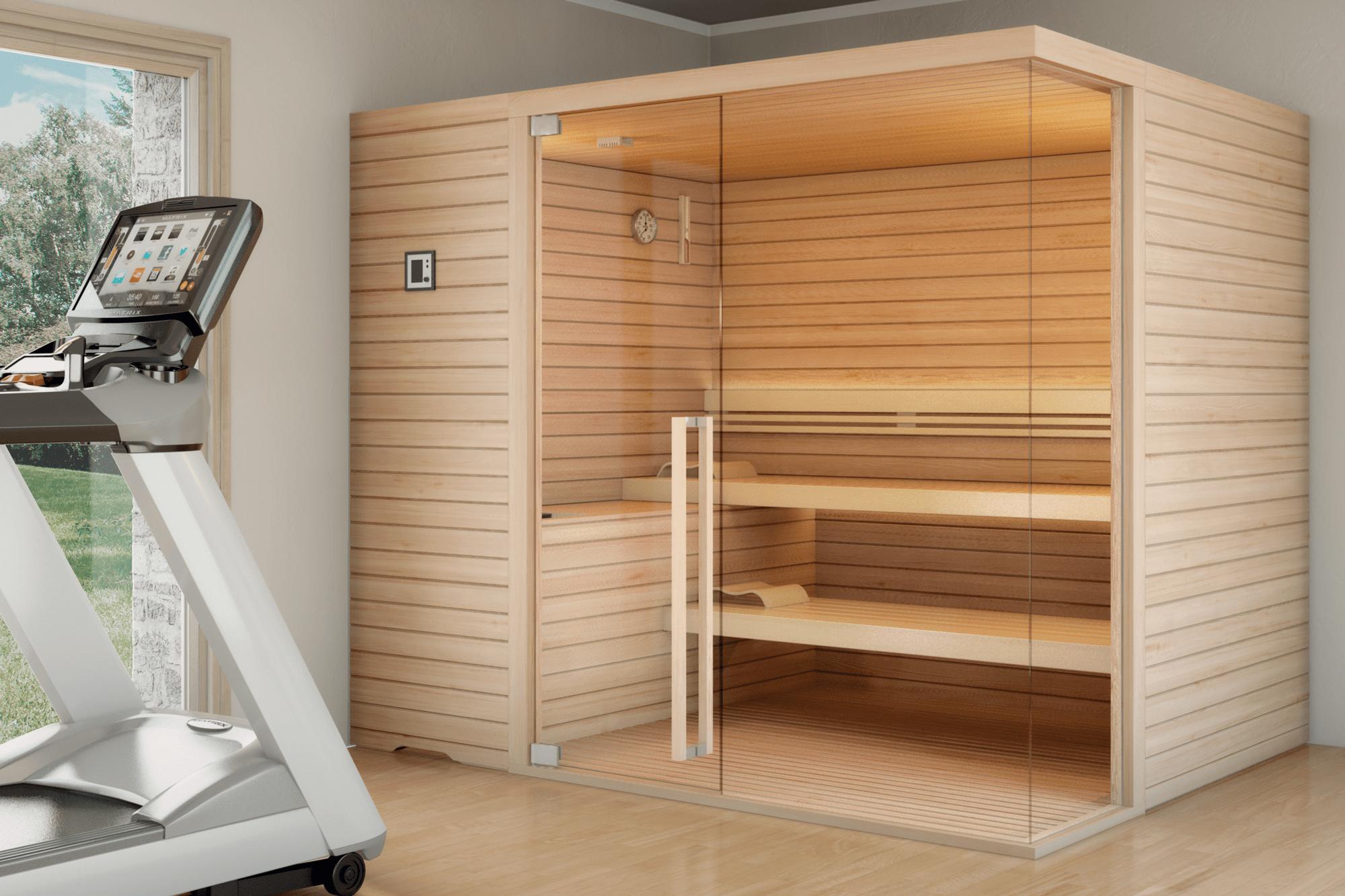 Sauna Topclass Corner