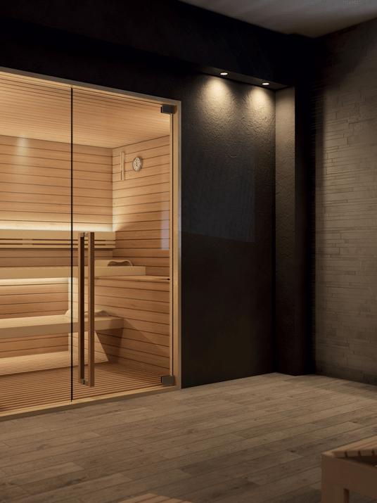Sauna Topclass Realizzazione