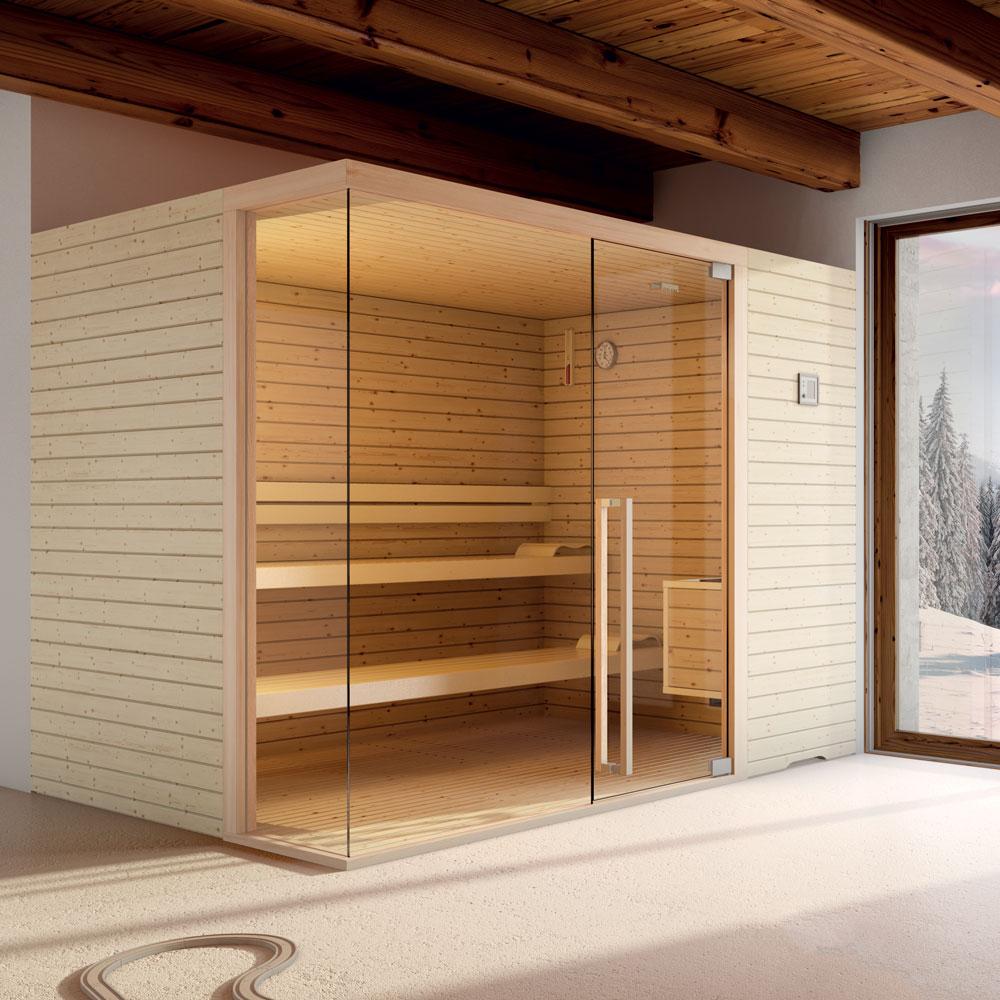 Sauna elegant per centri estetici o abitazioni private stenal - Bagni chimici per abitazioni ...