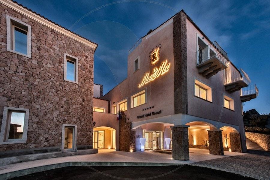 Grand Hotel Ma&Ma Esterno