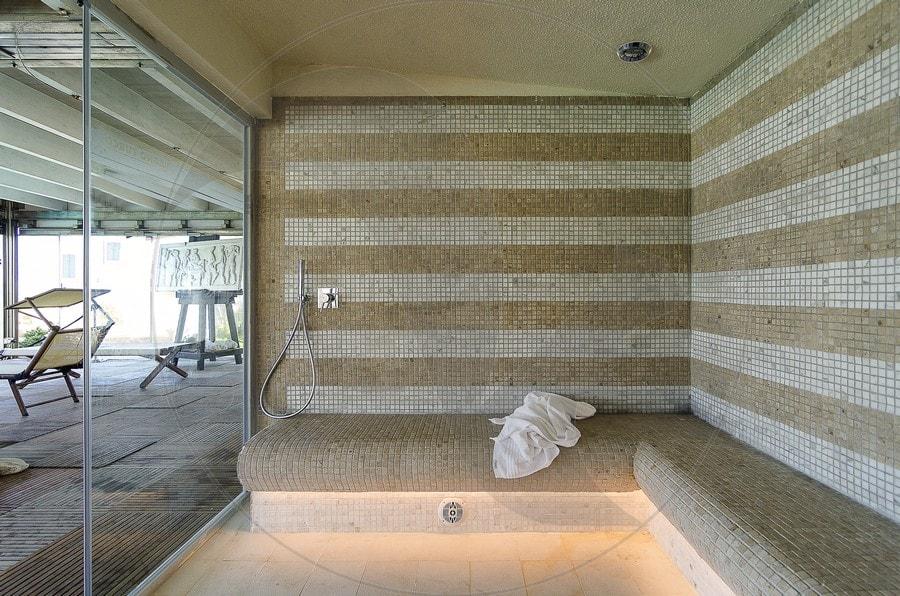 Palazzo della spiaggia stenal - Realizzazione bagno turco ...