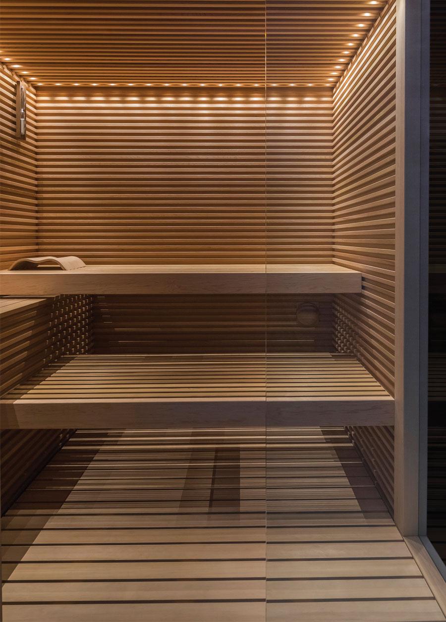 Sauna in legno di Cedro