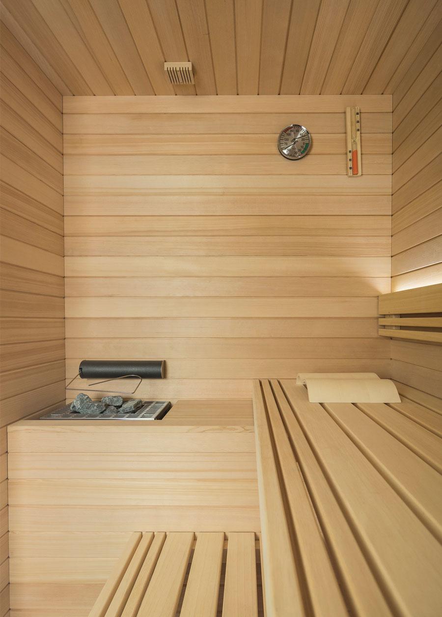 Sauna in legno di Hemlock