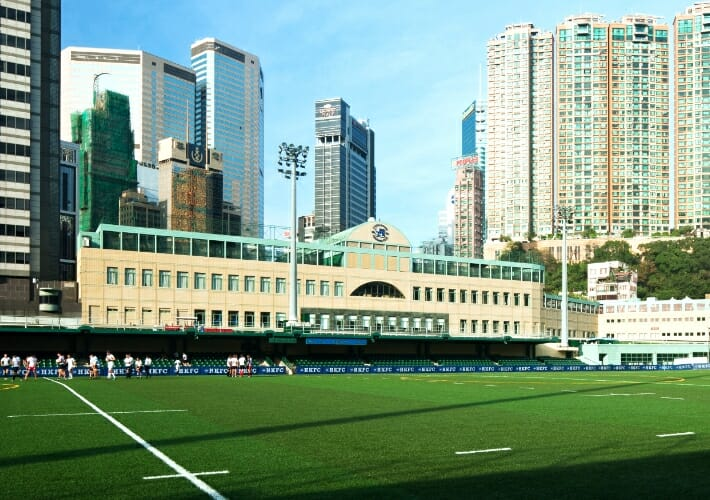 Realizzazione in Hong Kong Football Club